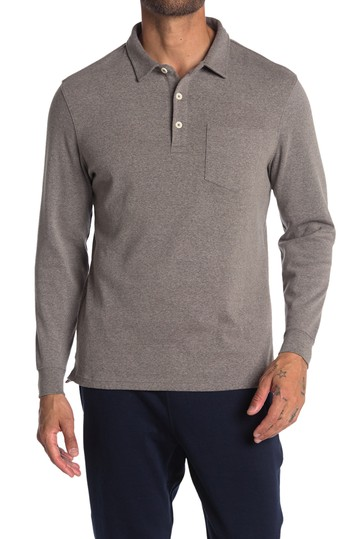 Long Sleeve Knit Polo THE NORMAL BRAND