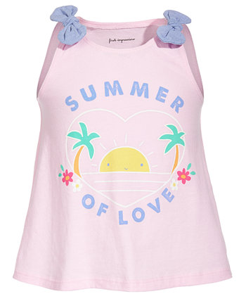 Toddler Girls Summer Love Cotton Top, Created for Macy's First Impressions