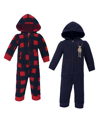 Boys and Girls Fleece Jumpsuits, Coveralls, and Playsuits Hudson Baby