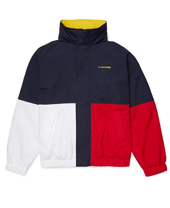 Men's Ventura Colorblocked Regatta Jacket with Magnetic Zipper & Extended Pull Tommy Hilfiger