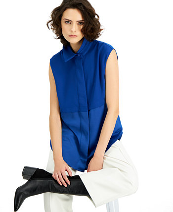 Tiered Button Tunic, Created for Macy's Alfani