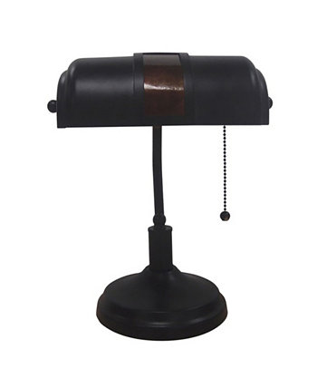 Bankers Table Lamp Adesso
