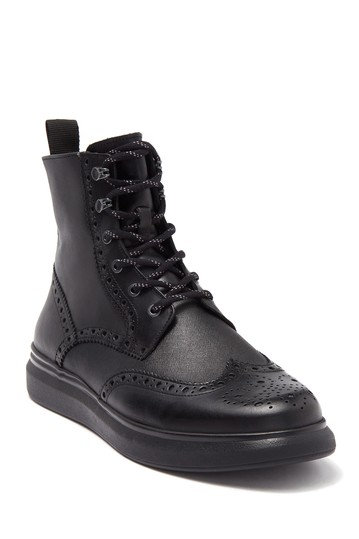 Wingtip Lace-Up Boot Karl Lagerfeld Paris