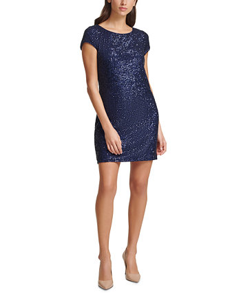 Sequined Sheath Dress Vince Camuto