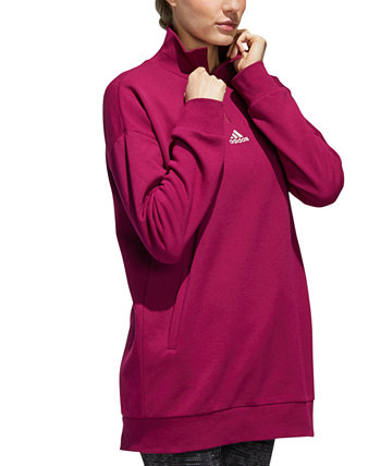 Quarter-Zip Fleece Top Adidas