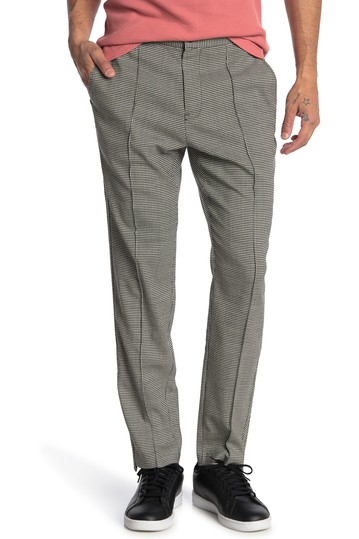 Sideline Houndstooth Mid Rise Trousers OVADIA AND SONS