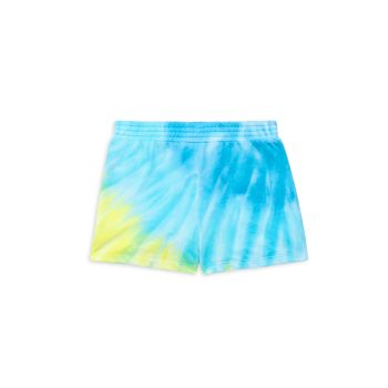 Girl's Tie-Dye Shorts Design History