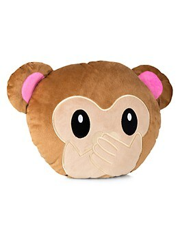 Speak No Evil Monkey Emoji Pillow My Emoji