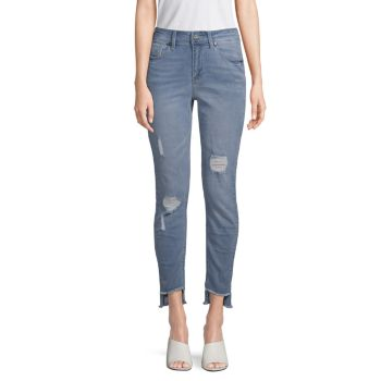 Jess Distressed Skinny Jeans Kenneth Cole