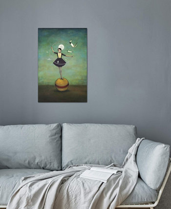 """Luna's Circle"" by Duy Huynh Gallery-Wrapped Canvas Print (40 x 26 x 0.75) ICanvas"