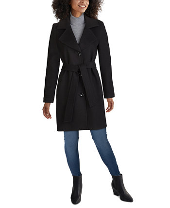 Petite Belted Walker Coat Jones New York