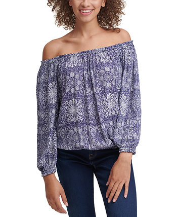 Printed Off-The-Shoulder Top Tommy Hilfiger