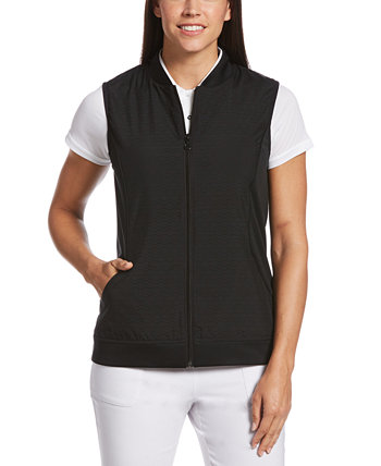Fleece Perforated Fleece Vest PGA TOUR