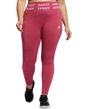 Plus Size Aeroknit Training 7/8 Tights Adidas