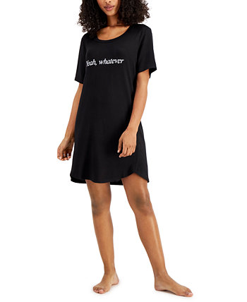 Plus Size Short Sleep Shirt Nightgown, Created for Macy's Jenni