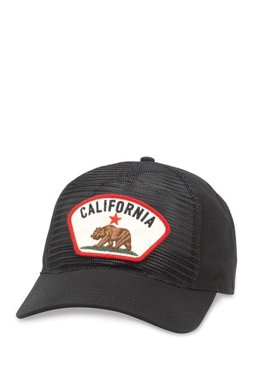 Durham California Mesh Trucker Cap American Needle