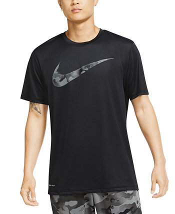 Men's Camouflage Training T-Shirt Nike