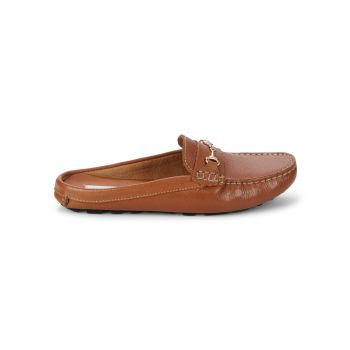 Slip-On Leather Loafer Mules Saks Fifth Avenue