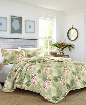 Tommy Bahama Tropical Orchid Twin Quilt Sham Set Tommy Bahama Home