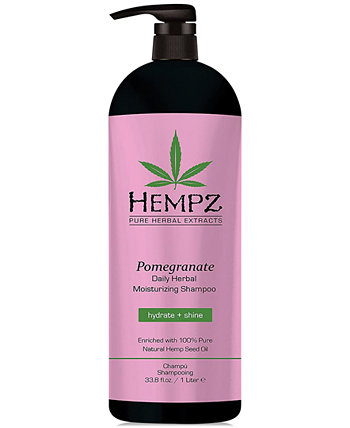 Pomegranate Herbal Shampoo, 33-oz., from PUREBEAUTY Salon & Spa Hempz