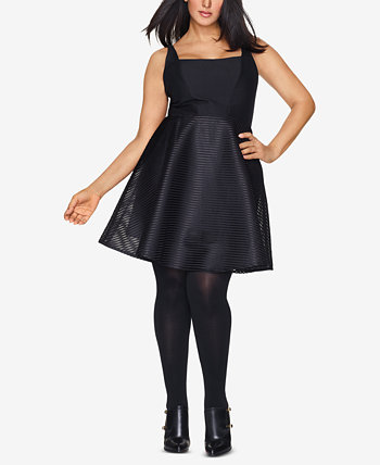 Curves Plus Size Sheer Tights Hanes