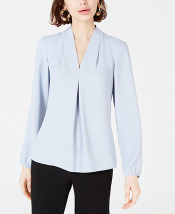 Inverted-Pleat Blouse, Created for Macy's Bar III