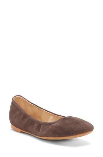 Brindin Leather Flat Vince Camuto