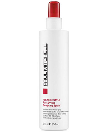 Flexible Style Fast Drying Sculpting Spray, 8.5-oz., from PUREBEAUTY Salon & Spa PAUL MITCHELL