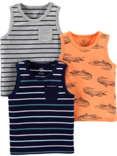 3-Pack Tank Tops (Toddler) Simple Joys by Carter's