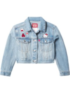 Hello Kitty® Denim Trucker Jacket (Little Kids) Levi's® Kids