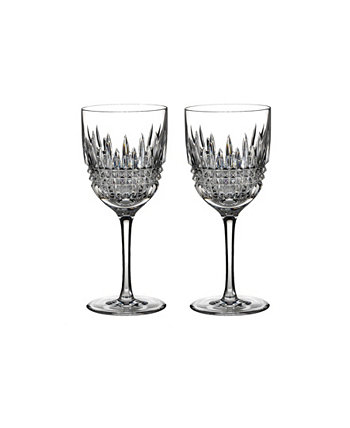 Lismore 9 oz Diamond-Like Goblet, Set of 2 Waterford