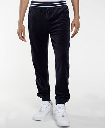 Velour Men's  Track Pant with Piping Sean John