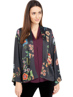 Maggie Crop Kimono (Reversible) Johnny Was