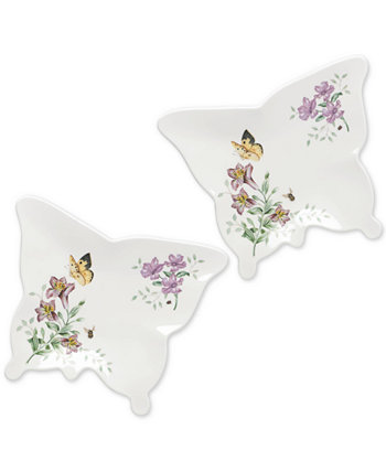 Butterfly Meadow Melamine Plate Set Lenox