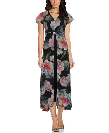 Floral Print Jumpsuit Adrianna Papell