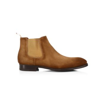 COLLECTION Suede Chelsea Boots Saks Fifth Avenue