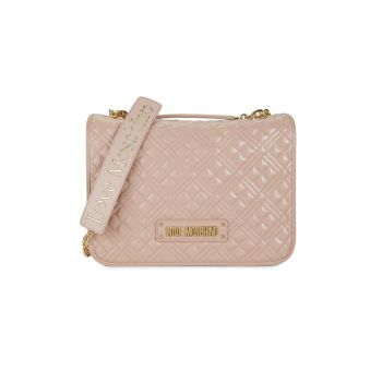 Quilted Crossbody Bag LOVE Moschino
