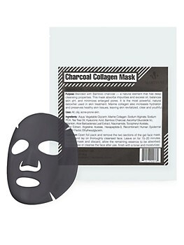 Charcoal Collagen Mask Martinni Beauty