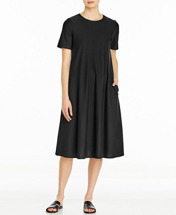 Crewneck Dress, Available in Regular & Petite Sizes Eileen Fisher