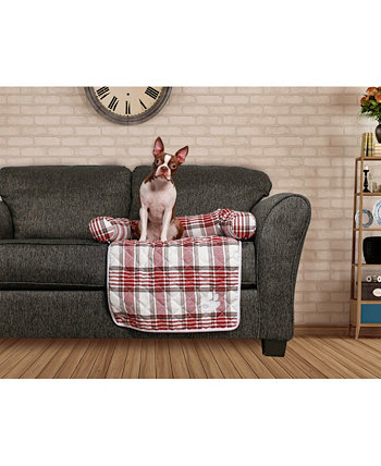 Hadley Reversible Pet Bed Chair Cover Duck River Textile