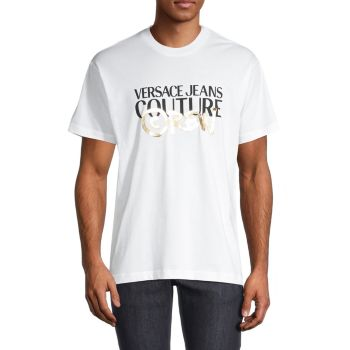 Graphic Logo T-Shirt Versace Jeans Couture