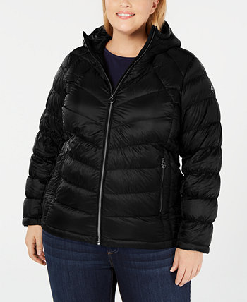 Plus Size Packable Hooded Puffer Coat, Created for Macy's Michael Kors