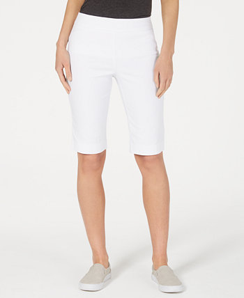 Pull-On Bermuda Shorts, Created for Macy's Charter Club