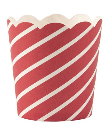 Diagonal Cup Petite, Pack of 40 Simply Baked