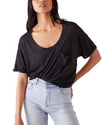Summer Sky Distressed T-Shirt Free People
