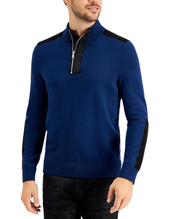 INC Men's Lock Half-Zip Sweater, Created for Macy's INC International Concepts