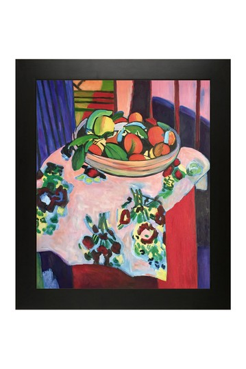 """Still Life with Oranges with New Age Black Frame , 24.75"""" x 28.75"""" No brands"""