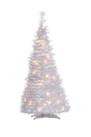 4ft. High Pop-Up Pre-Lit White Pine Tree Gerson Company