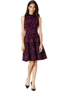 Floral Flared Dress MILLY