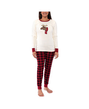 Big Girl's Family Holiday Pajamas Touched by Nature
